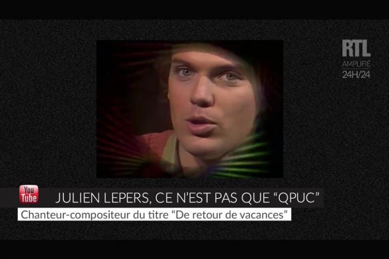 """VIDEO - Julien Lepers ce n'est pas que """"Questions pour un champion"""""""