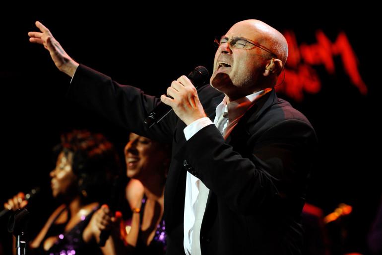 Phil Collins en juillet 2010