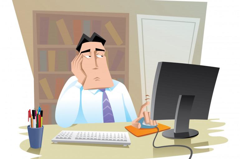 L'ennui au travail, nouvelle maladie professionnelle ?
