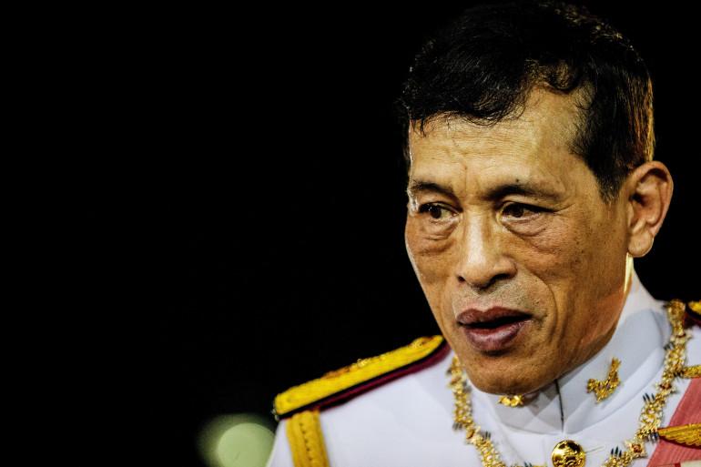 Le roi de Thaïlande Rama X, le 23 octobre 2020