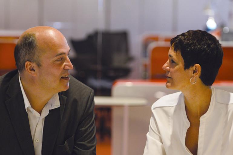 Vincent Parizot et Christelle Rebiere