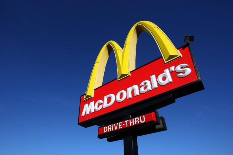 Enseigne des fast-foods McDonald's