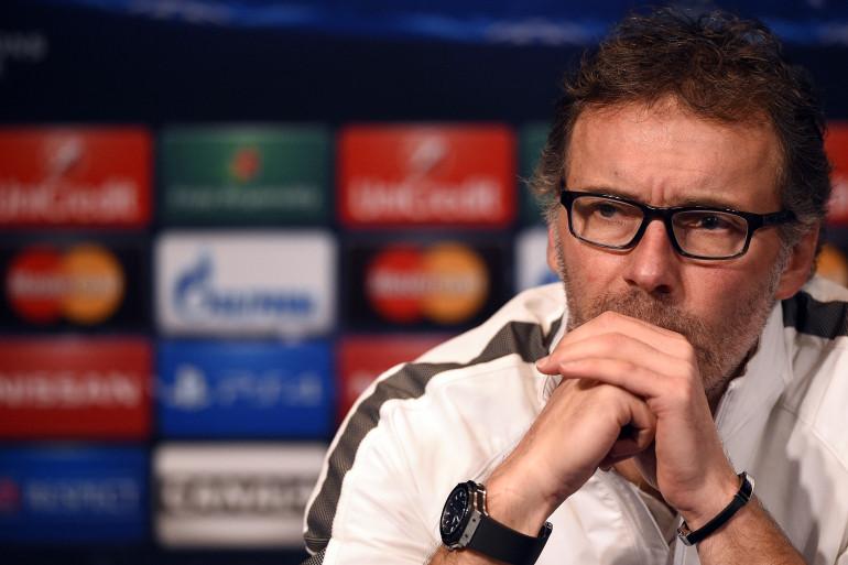 L'entraîneur du PSG Laurent Blanc lundi 15 février 2015