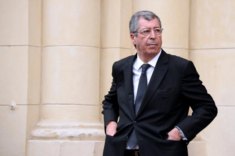 Le maire LR de Levallois-Perret Patrick Balkany le 7 mai 2015.