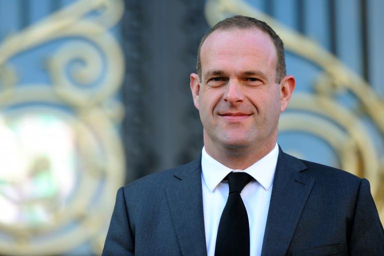 Steeve Briois, vice-président du Front national, le 11 novembre 2013 à Henin-Beaumont