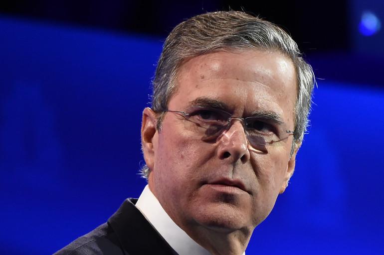 Jeb Bush, frère de George W.Bush et fils de George Bush, était candidat à la primaire républicaine