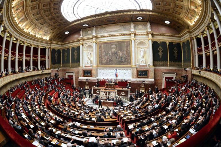 L'hémicycle de l'Assemblée nationale (illustration).