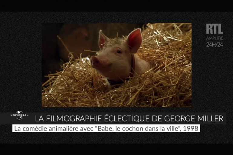 VIDÉO - La filmographie éclectique de George Miller