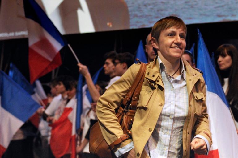 Emmanuelle Mignon, ex-directrice de cabinet de Nicolas Sarkozy, lors de la campagne présidentielle