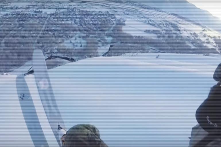 Un skieur échappe à deux avalanches