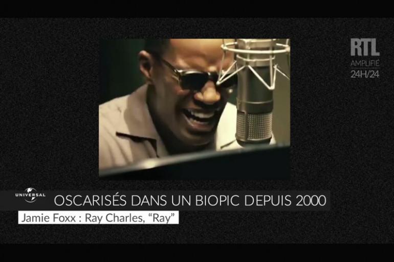VIDEO - Oscarisés pour un rôle dans un biopic depuis 2000