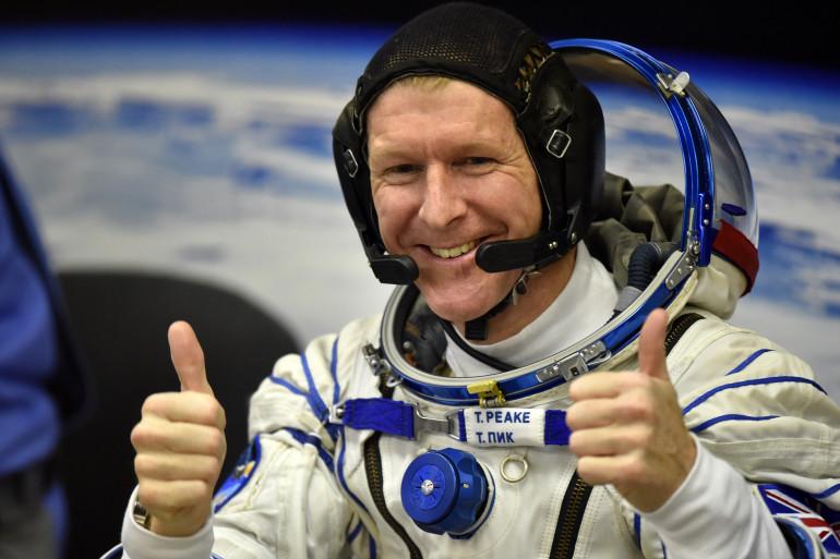 L'astronaute britannique Tim Peake est à bord de l'ISS pour une mission de six mois.