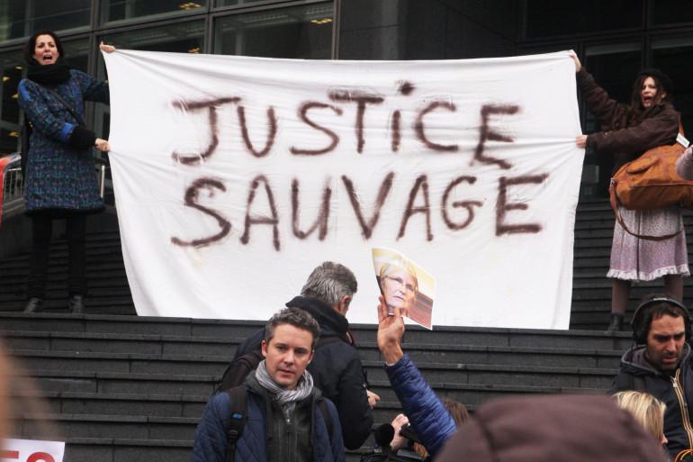 Un rassemblement de soutien à Jacqueline Sauvage en 2015