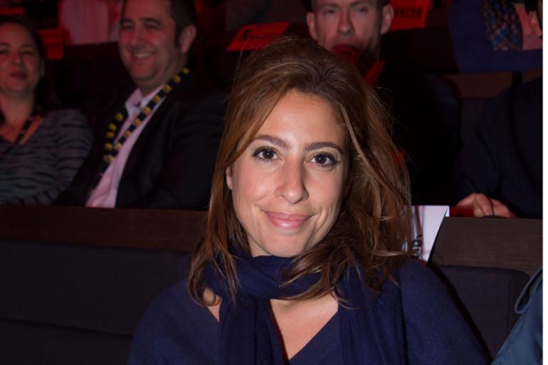 La journaliste Léa Salamé en janvier 2015