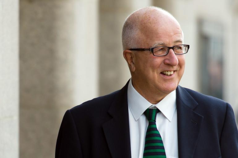 Denis MacShane, ministre britannique des Affaires européennes