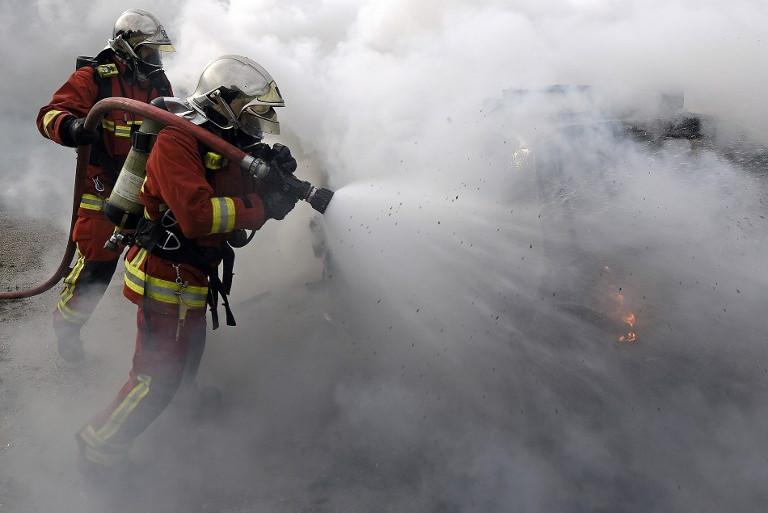 Des pompiers en exercice (illustration)