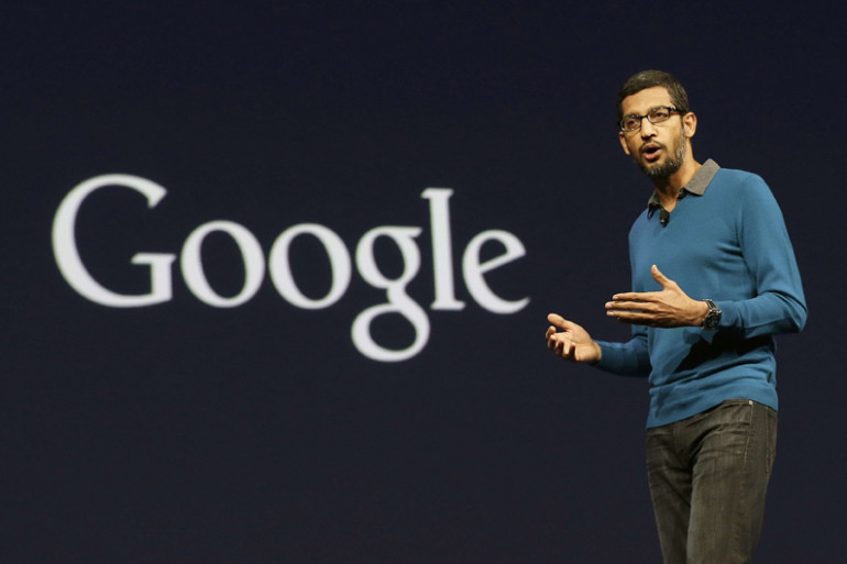 Sundar Pichai, le PDG de Google