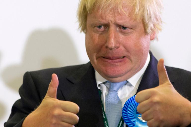 Boris Johnson, le maire de Londres, le 5 mai 2015