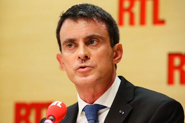 Manuel Valls, invité de RTL, le 23 février 2016