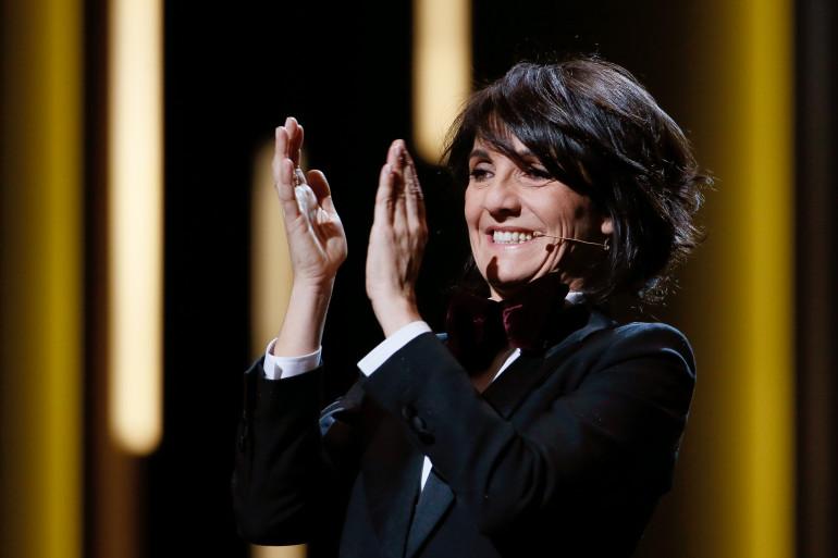 Florence Foresti sur la scène des César le 26 février 2016