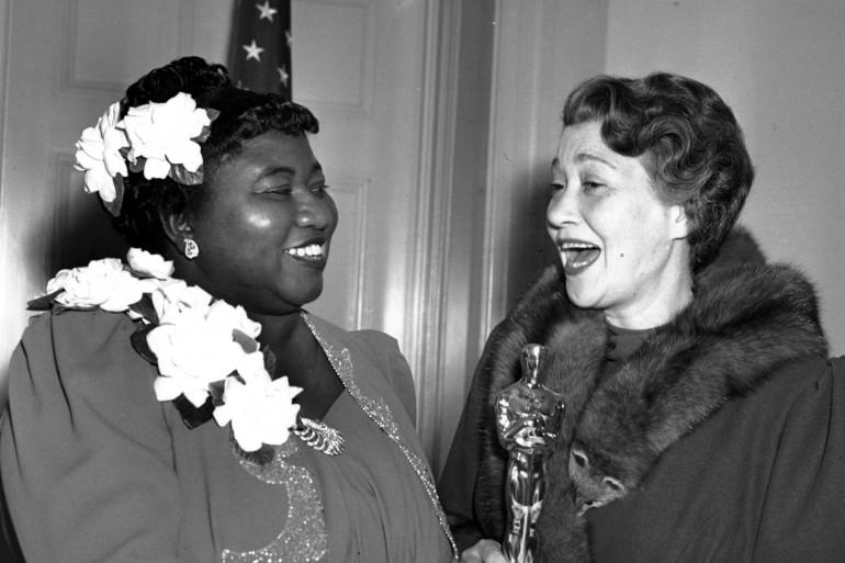Hattie McDaniel aux Oscars en 1940
