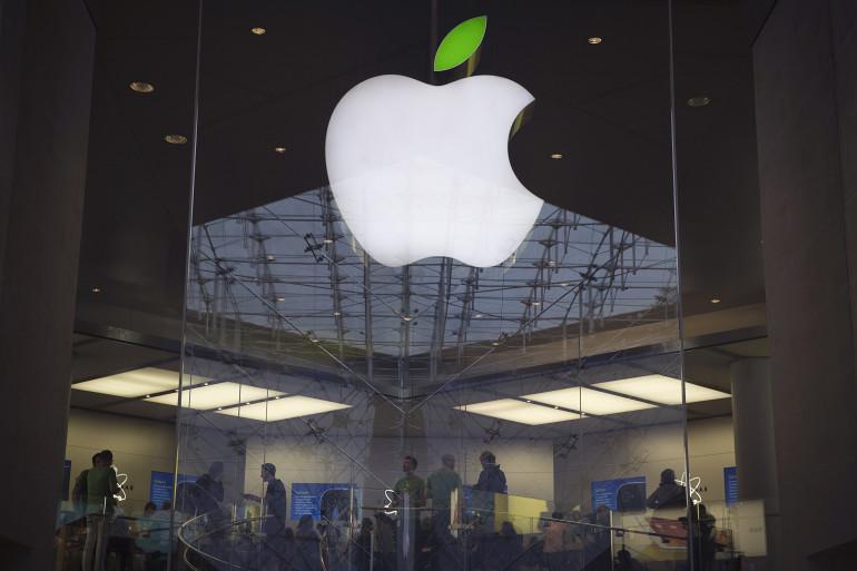 L'Apple Store de Paris Opéra (archives)