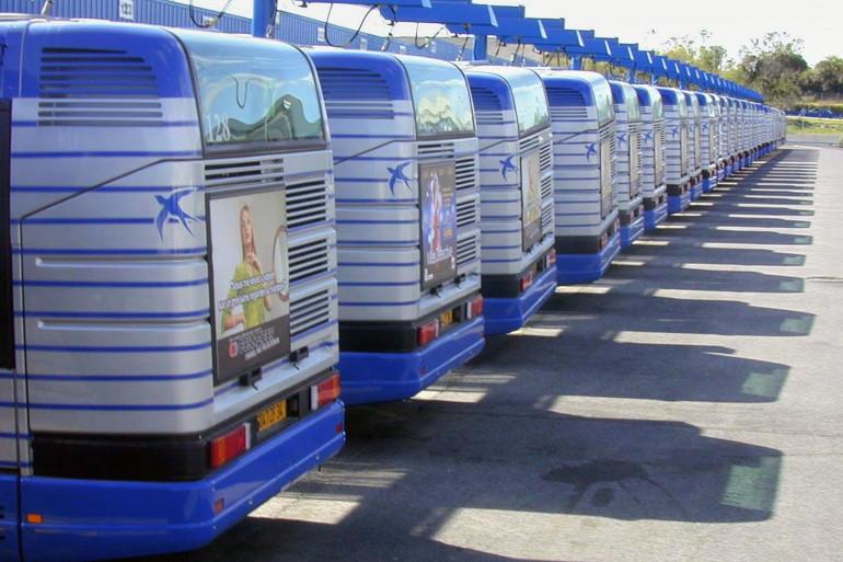 Un dépôt d'autocars (illustration).