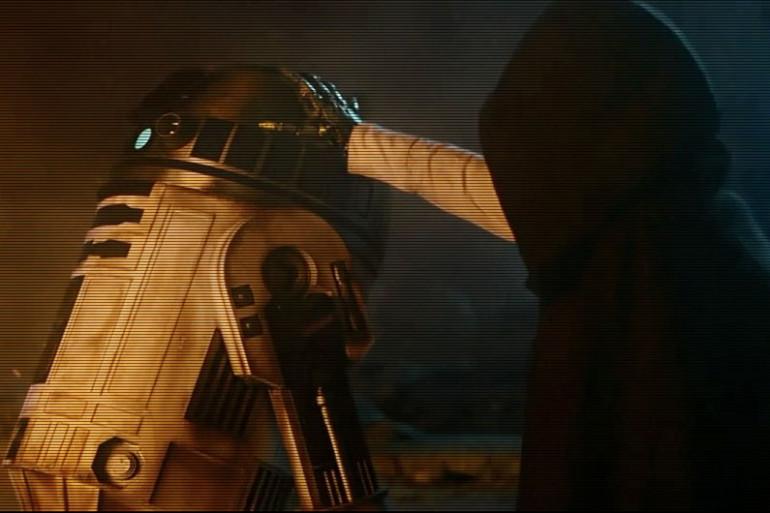 R2-D2 dans le dernier volet de la saga