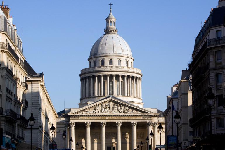 Une vue du Panthéon à Paris