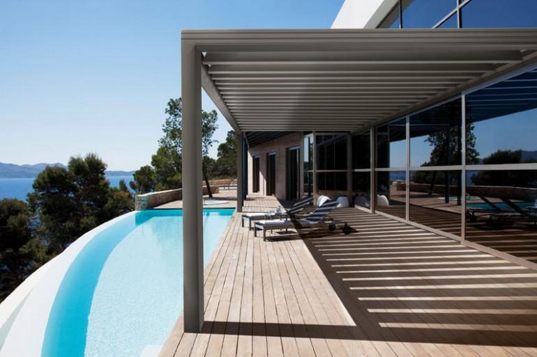 La Pergola Aluminium Wallis&Outdoor® de chez Profils Systèmes
