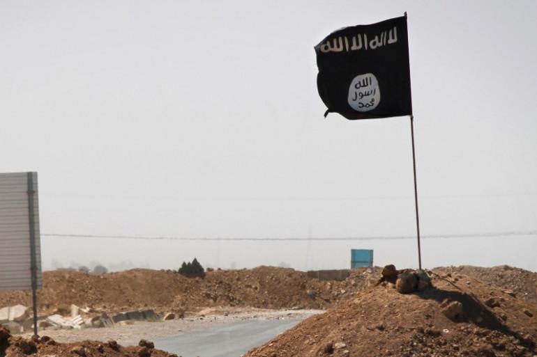Drapeau de l'État Islamique (illustration)
