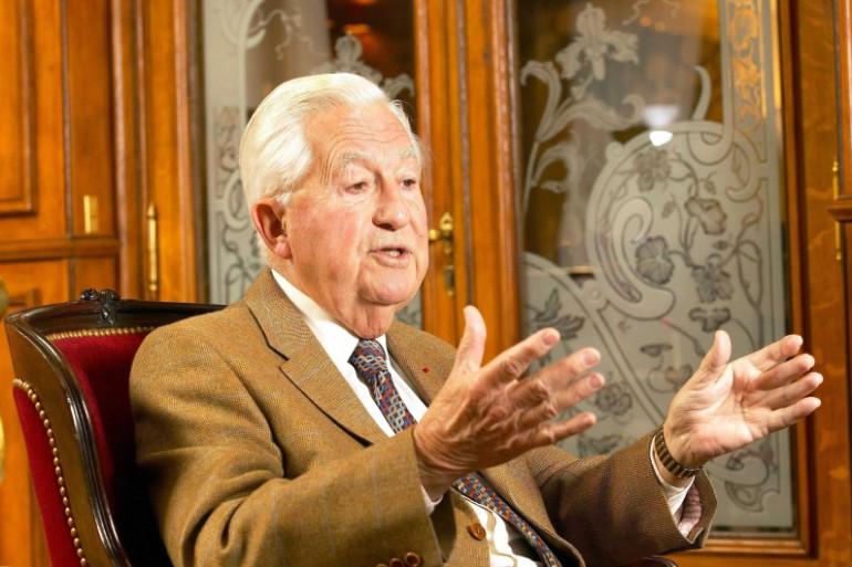 Jean-Bernard Raimond en novembre 2005.