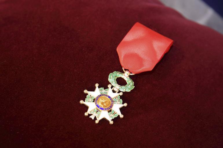 Une médaille de la Légion d'honneur (illustration)