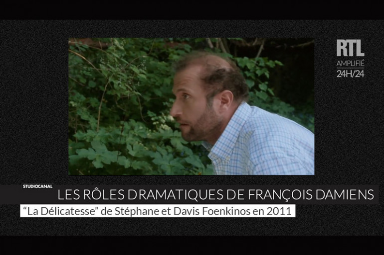 Les rôles dramatiques de François Damiens