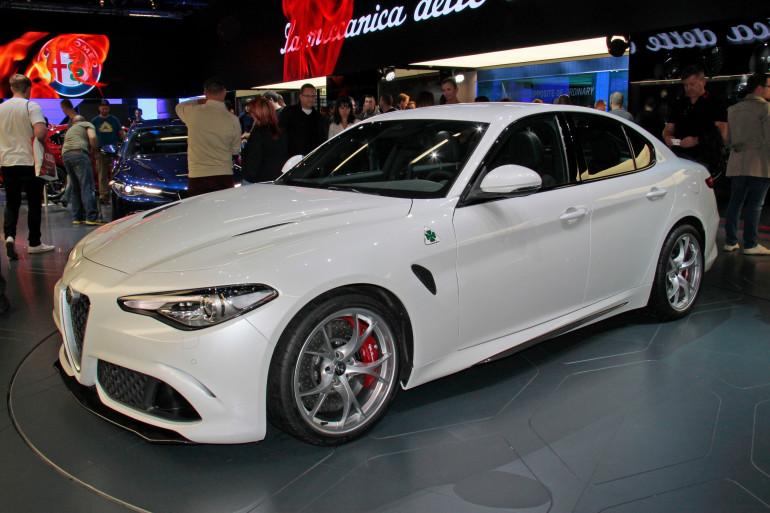 L'Alfa Romeo Giulia au Salon de Francfort 2015