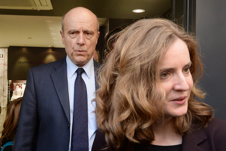 Alain Juppé et Nathalie Kosciusko-Morizet en 2014