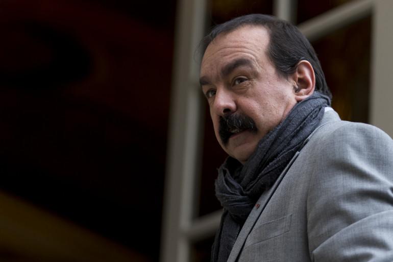 Philippe Martinez à Matignon le 11 janvier 2016