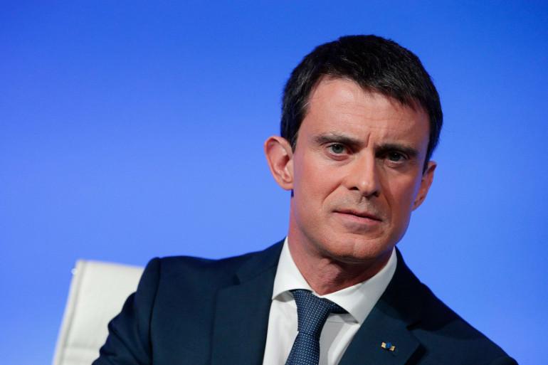 Manuel Valls à Paris, le 14 mars 2016