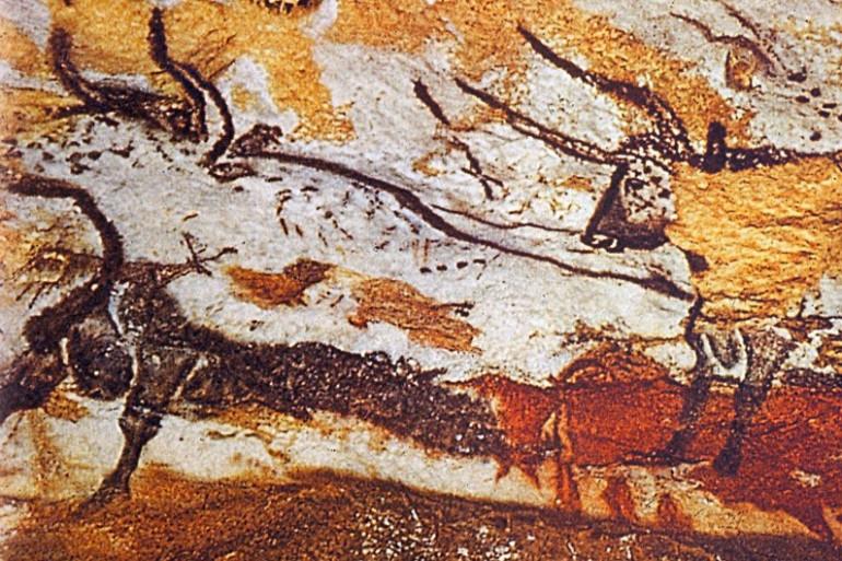 Une image de la grotte de Lascaux