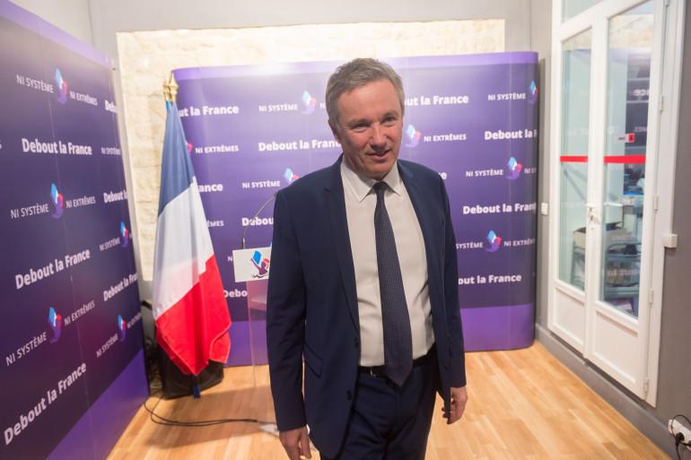 Le souverainiste Nicolas Dupont-Aignan repart à l'abordage de la présidentielle