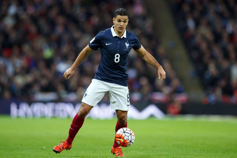 Hatem Ben Arfa sous les couleurs de l'équipe de France le 17 novembre 2015