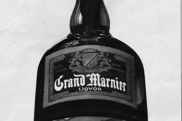 Une publicité pour Grand Marnier