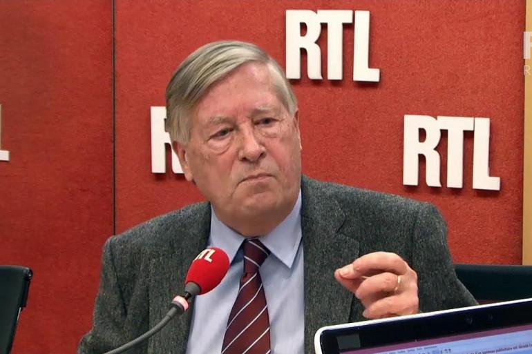 Alain Duhamel au micro de RTL