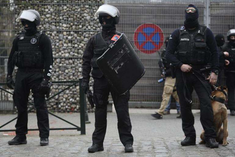 Les forces spéciales belges ont arrêté Salah Abdeslam le 18 mars 2016