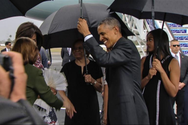 Barack Obama a débuté une visite historique à Cuba dimanche 20 mars.