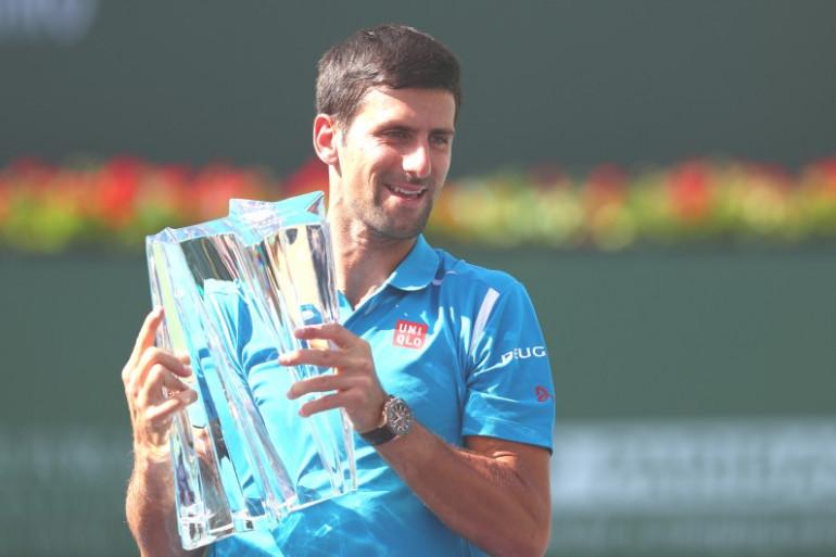 Novak Djokovic a remporté la finale du Masters 1000 d'Indian Wells 2016