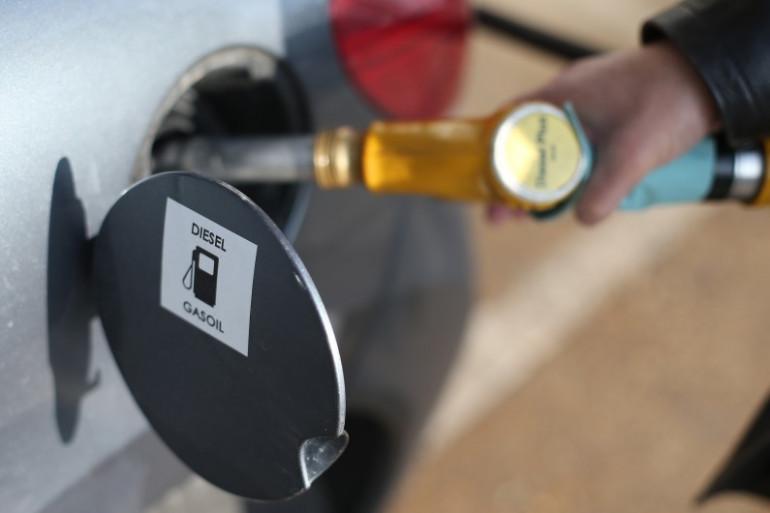 Un véhicule roulant au diesel (illustration)