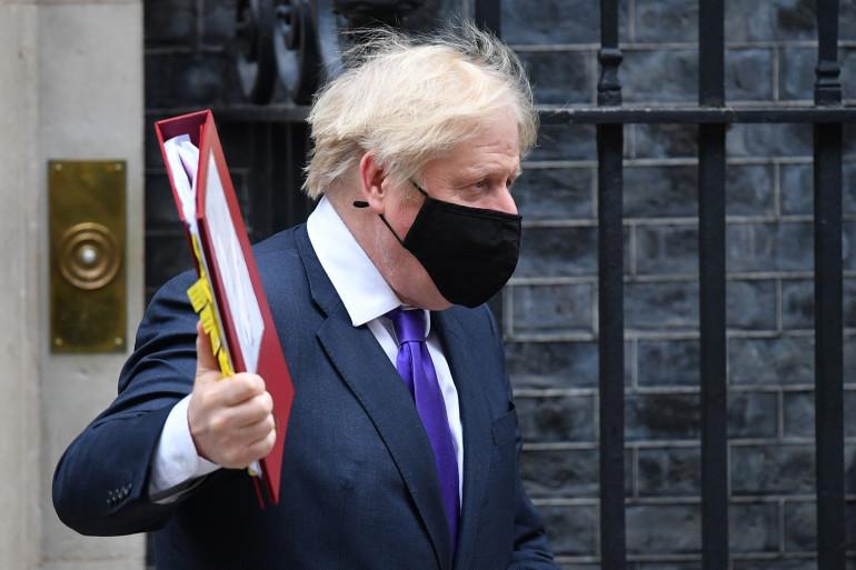 Boris Johnson, le 2 décembre 2020