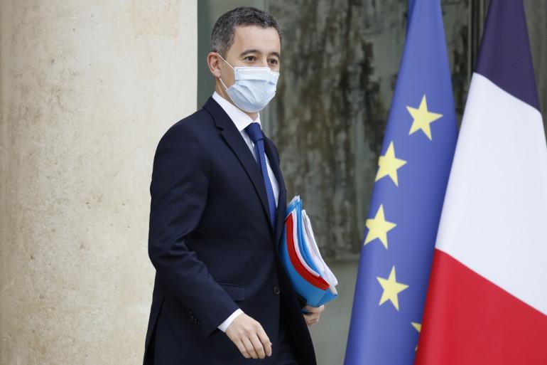 Gérald Darmanin, à la sortie du Conseil des ministres le mercredi 2 décembre