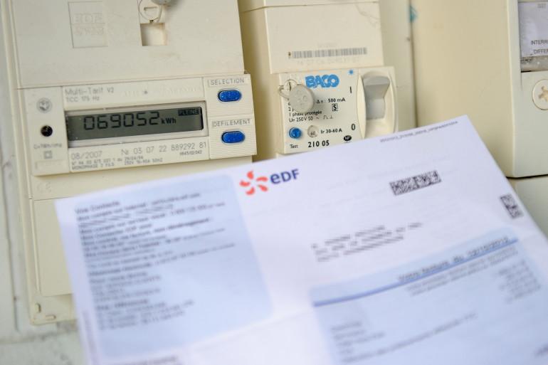 Une facture d'électricité (illustration)